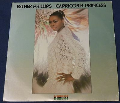 Esther Phillips CAPRICORN PRINCESS 1976 Kudu LP KU-31 Jazz-Funk EX/VG+ Soul 12