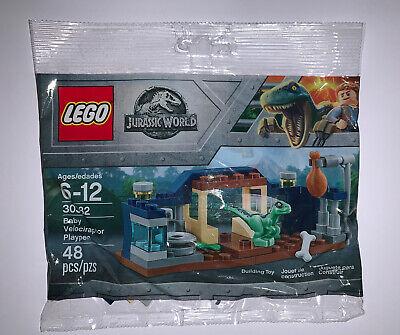 Jurassic World Baby Velociraptor Playpen LEGO Polybag New Sealed 30382 Dinosaur