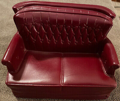 Vintage Doll House Furniture Couch Marx 1978 Sindy