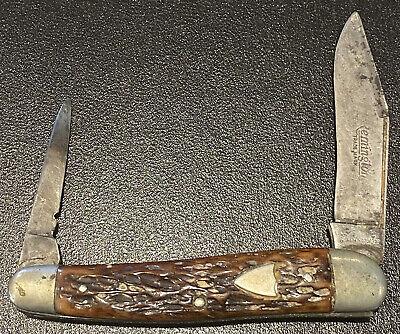 Remington U.M.C. 1920-40 pen knife Model R7463 Vintage Folding Pocket USA Old