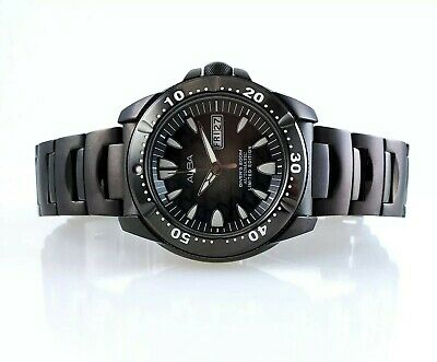 Alba Diver's 200m Limited Edition Black Manta Ray. Only 400 Made! 7S26-X002