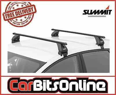 Roof bars pair to fit Vauxhall Zafira A 1998-2004 5D cars without running rails