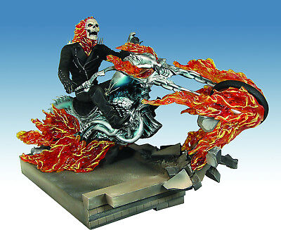 Ghost Rider on Building Movie Statue by Diamond Select