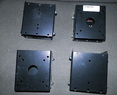 Set of 4 TV-MNT-3011 LCD TV Bracket Standard Fixed Angle Wall Mount Flat Panel