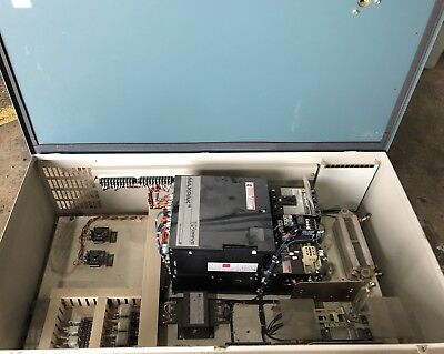 Reliance Electric Maxpak III 7.5 hp Spindle VS DC Drive Cabinet 7P8171