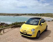 Fiat 500C 2012 0.9 Twinair turbo Manual Tropicalia Yellow. Marino Marion Area Preview