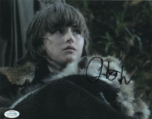 Isaac Hempstead Wright Game of Thrones Autographed Signed 8x10 Photo ACOA MA9