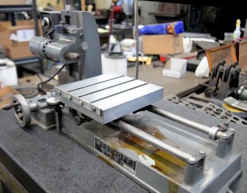 Westhoff Graphite Drilling Machine for Fushing Holes