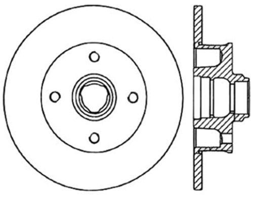 Disc Brake Rotor C Tek Standard Centric 121 33022 Fits 85 98 Vw