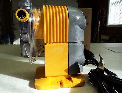Tacmina Pz-12-vfc Solenoid Driven Metering Pump 1.6gph 60psi Man