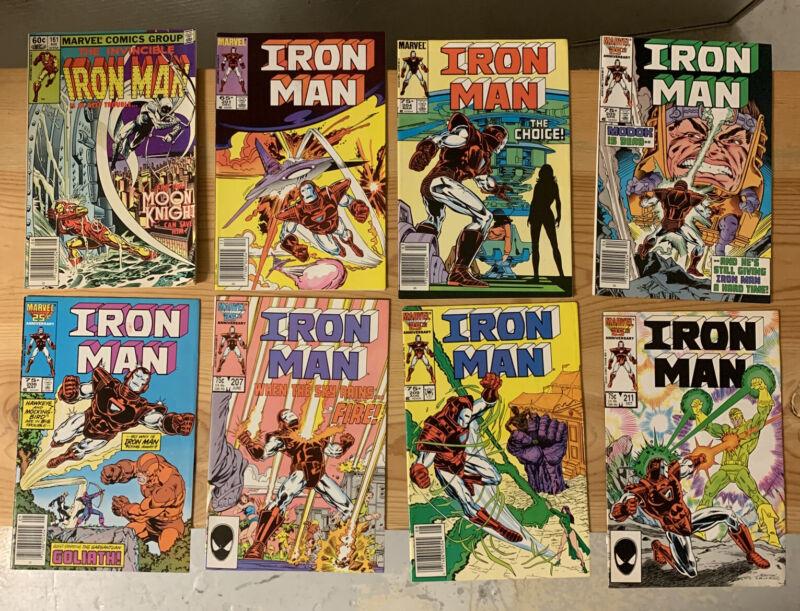 Lot of 40 Iron Man comics