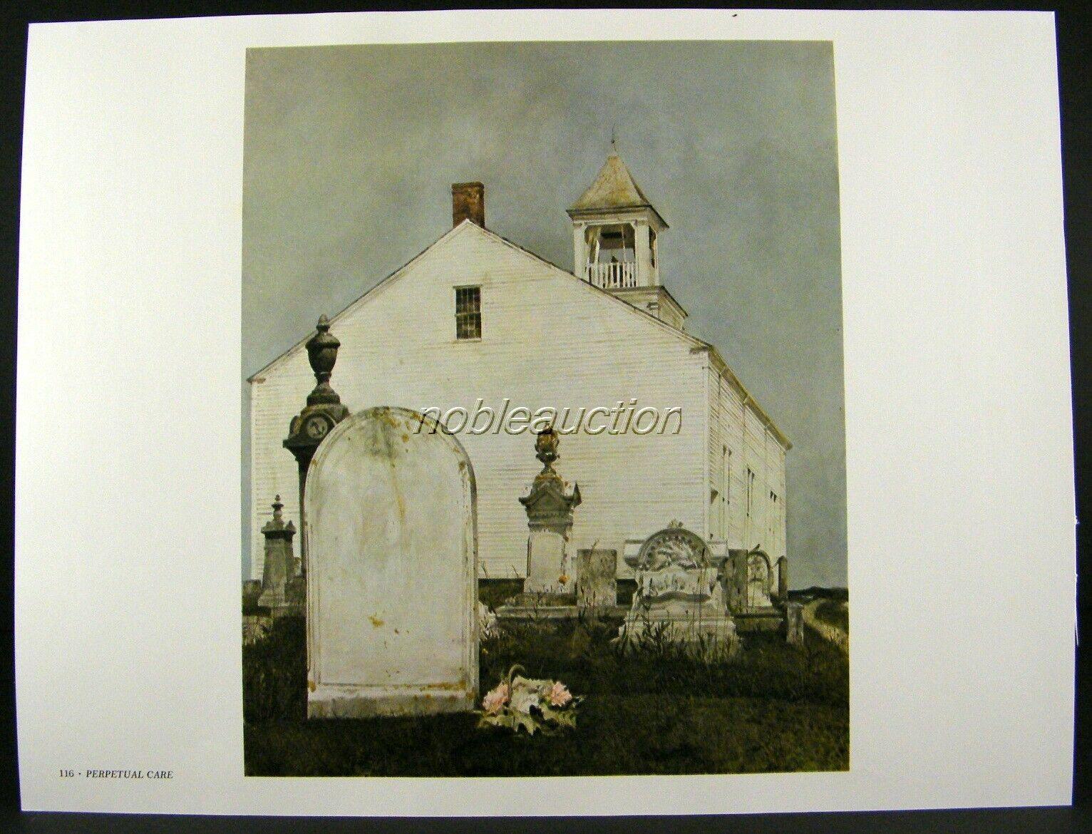 Andrew Wyeth Gravure Print THE CORNER /& HANGING DEER Pennsylvania