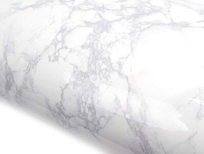 Grey Granite Look Marble Effect Contact Paper Film Vinyl Sel