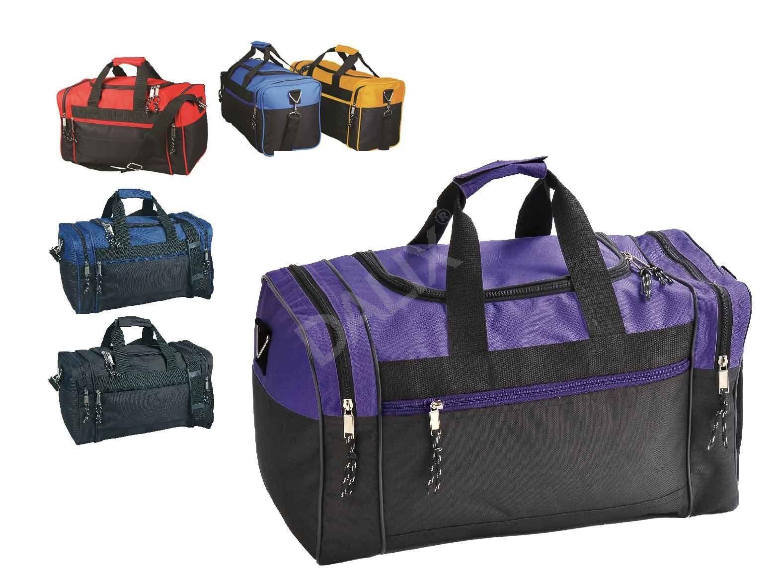 Men/Women Duffle Bag Duffel Travel Size Sports Gym Bag Worko