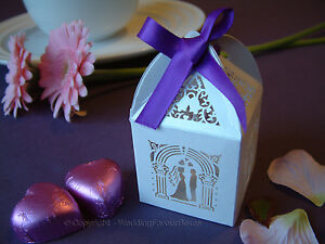 NEW - Luxury Wedding Sweets Favour Boxes Wedding Favours Table Decorations
