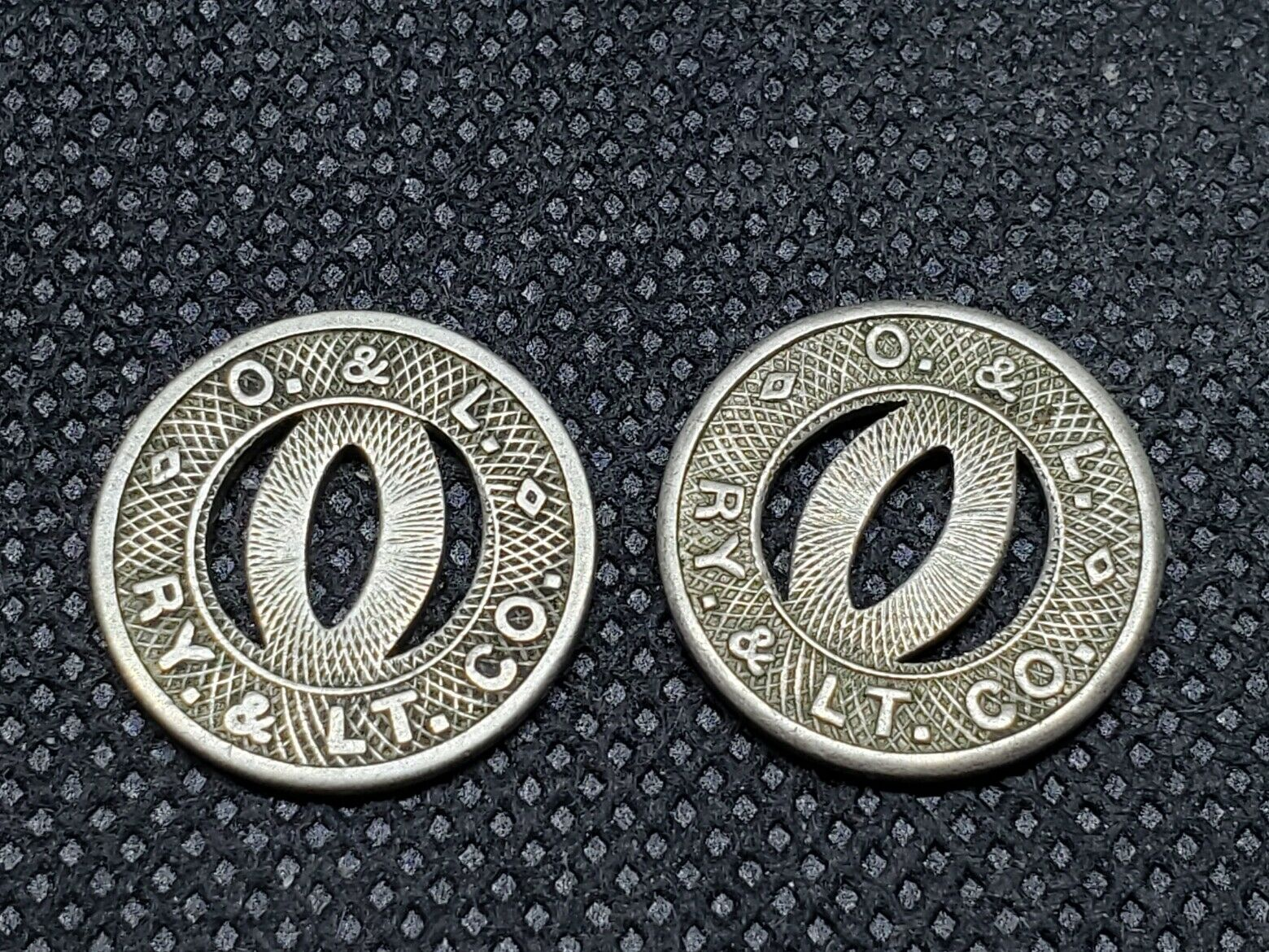 2 OMAHA TRANSIT TOKENS, SEE PICTURES, L1073 - $2.25