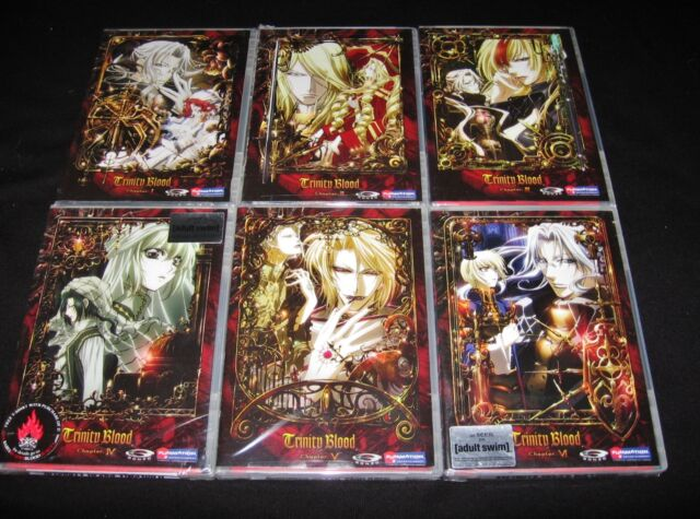 Trinity Blood - Complete Collection - Vol. 1,2,3,4,5,6 - Brand New Anime DVD Set