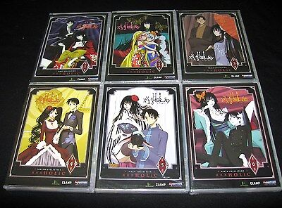 Xxxholic   Complete Collection   Vol  1 2 3 4 5 6   Brand New Anime Dvd Set