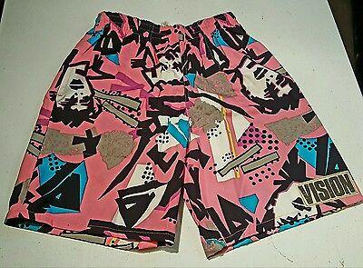 "Original Rare 80's Vision Street Wear ""Mark Gonzalez "" Shorts Men's Sm"