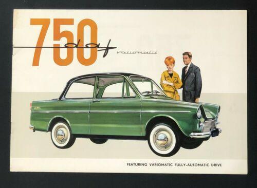 Vintage 1961 1962 Daffodil 750 Variomatic Sales Brochure Specifications Engine