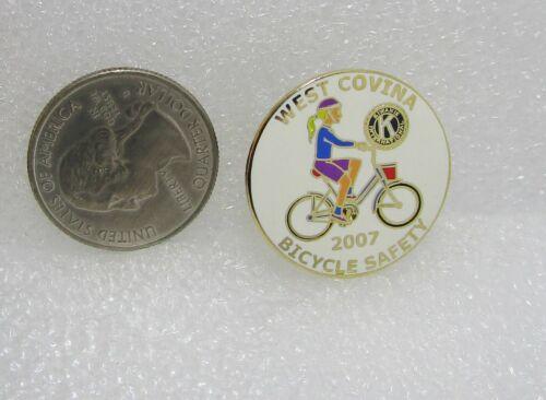 2007 Kiwanis West Covina Bicycle Safety Pin