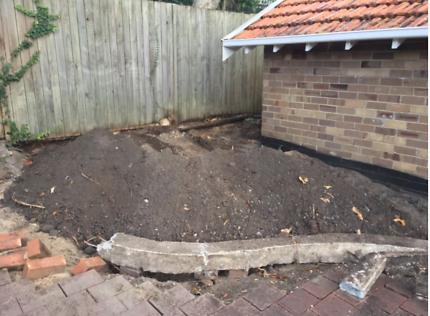 FREE GARDEN SOIL Clean Residential Back Yard Soil