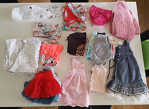 Bundle of Girls size 1 clothes Yamanto Ipswich City Preview