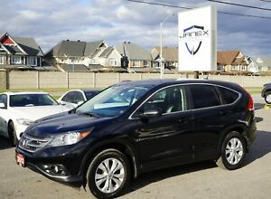 2013 Honda CR-V EX-L ACCIDENT FREE | AWD | BLACK LEATHER INTE...