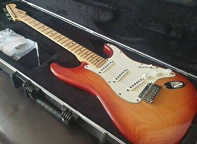 Fender 2008 American Standard Stratocaster Ash Body Sienna Sunburst Maple MI USA