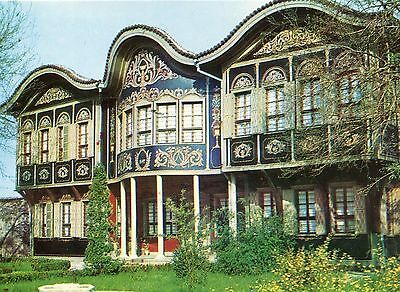 Alte Postkarte - Plovdiv - Das ethnographische Museum