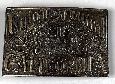 Union Central Pacific Railroad Omaha California Railroad Belt (Omaha California)