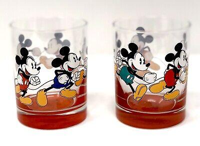 Disney Parks Mickey Mouse Drinking Glass Tumbler Dinnerware (Set Of 2) - NEW](Disney Dinnerware Set)