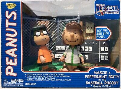 "2019 Super7 ReAction Peanuts Charlie Brown PEPPERMINT PATTY 4/"" Action Figure MOC"