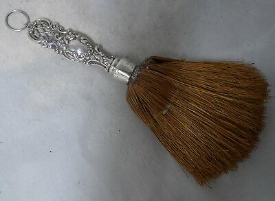 Victorian SIlver Crumb Brush Levi & Salaman Birmingham 1895 A645917