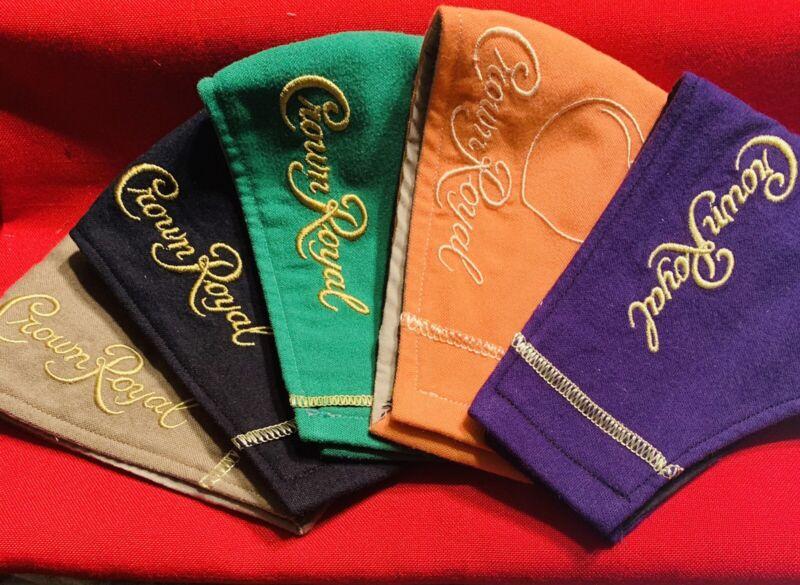 Crown Royal Masks Lot Bundle