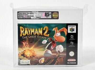 Nintendo N64,Rayman 2 PAL,VGA Gold 85+ NM+