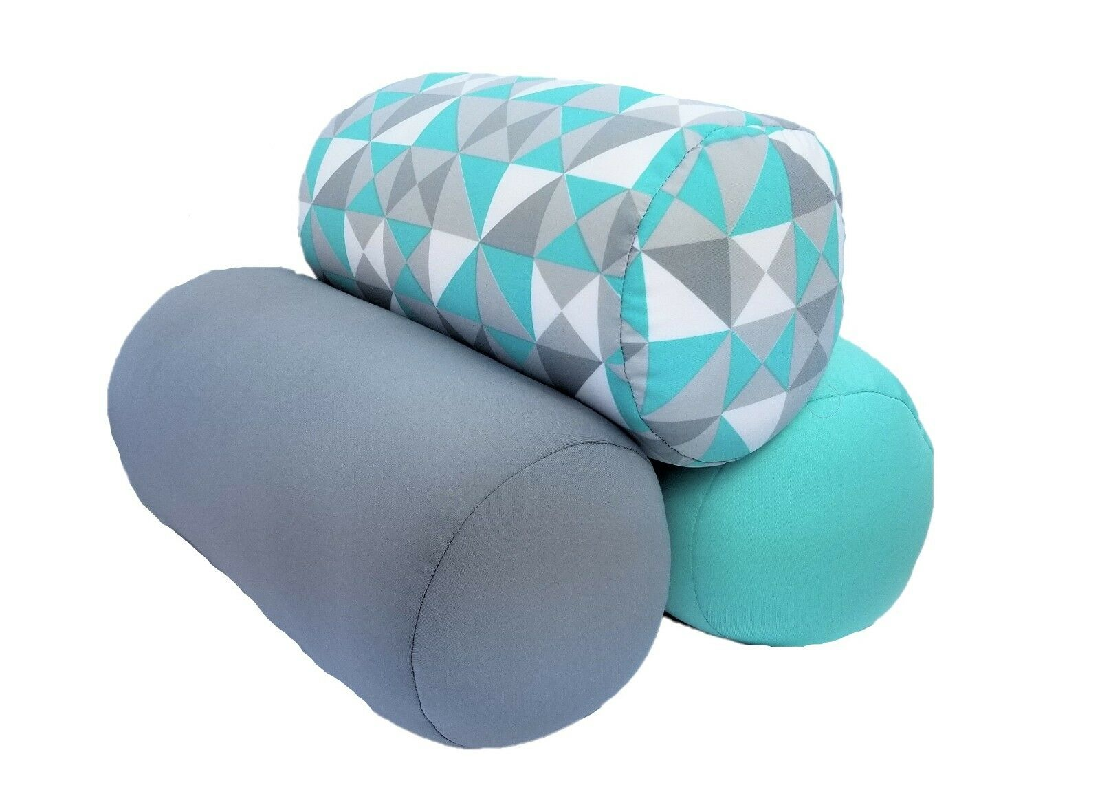 Non Toxic Micro Beads Tube Pillow Lumbar Roll Couch Throw Pi
