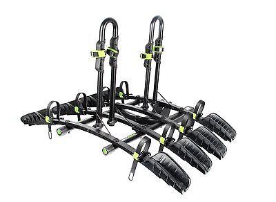 "BUZZ Rack Express 4 Bike Premium Platform TILTING Hitch 2"" Receivers Car SUV"