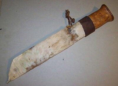 Lapland Sami knife --- 11 7/8 inch.