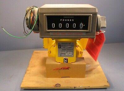 Liquid Controls M-7-3 Flow Meter Edible Oil Sweeteners 10-100 Gpm Veeder Root