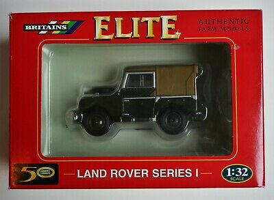 BRITAINS 00174 LAND ROVER Series I 1:32 Authentic Farm Models