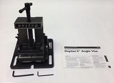 Dayton 6z844c Machine Vise 4 Angle Vise Tool