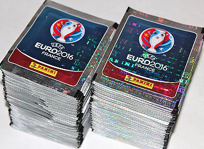 Panini UEFA EM EURO 2016 France - INTERNATIONAL EDITION 200 Tüten packets MINT!