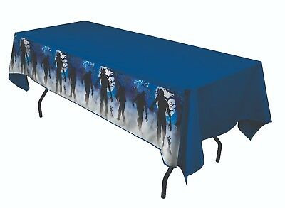 ZOMBIE PARTY PLASTIC TABLE CLOTH Halloween Party Decoration Dinner     2-4D - Halloween Dinner Party Decorations