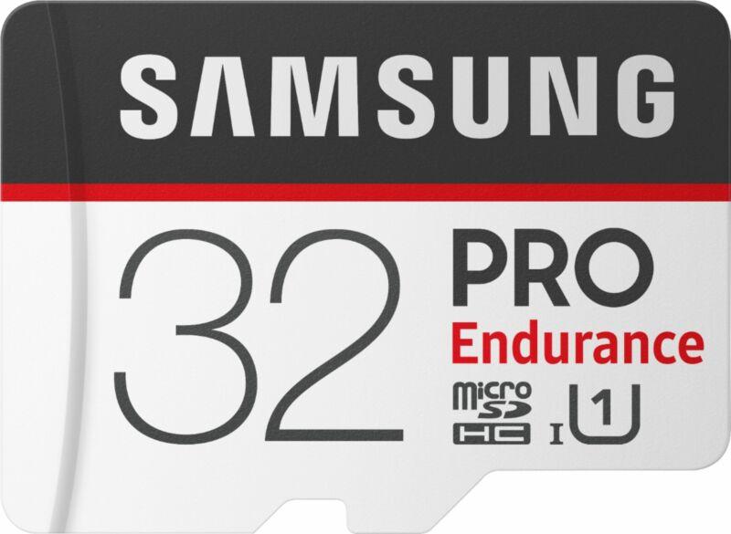 Samsung - 32GB PRO Endurance MicroSDHC UHS-I Memory Card