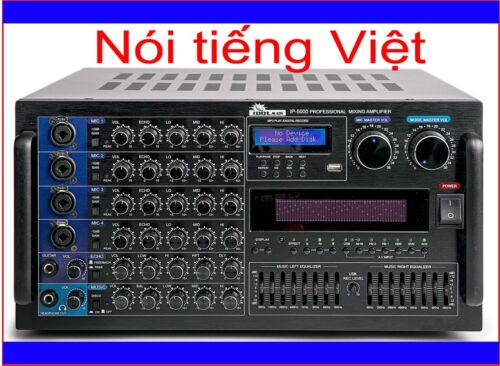 IDOLmain IP-5000 6000W Professional Karaoke Mixing Amplifier-Nói tiếng Việt