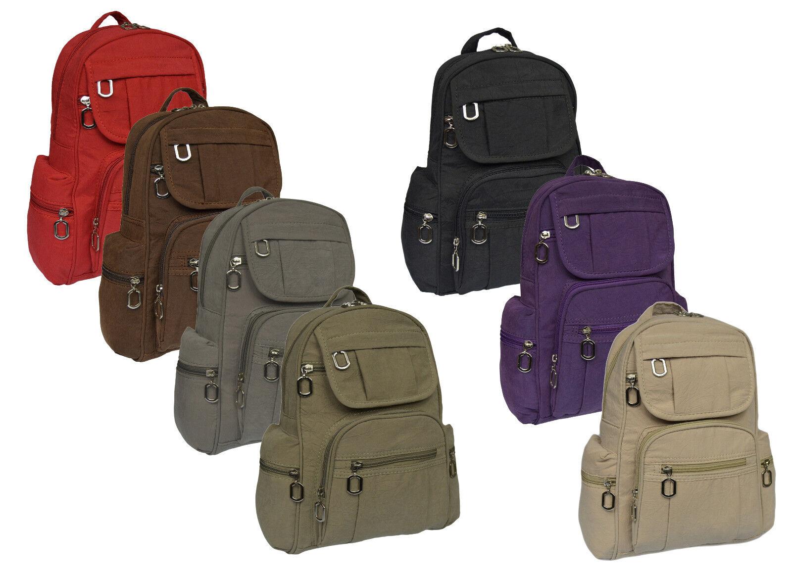 Sportlicher Leichter Damenrucksack Tasche Bag Cityrucksack Backpack Reise