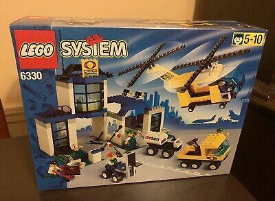 LEGO® Cargo Center #6330 (RETIRED) Vintage. Extremely RARE. NIB Sealed. NEW.