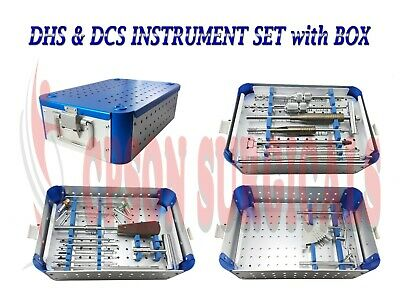 Orthopedic Dhs And Dcs Instrument Set With Aluminium Graphic Box