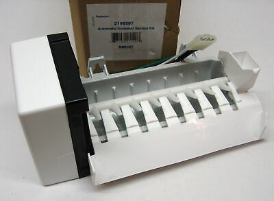Refrigerator Icemaker for Whirlpool Kenmore WP-2198597 PS869316 AP3182733
